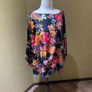 Chaps floral blouse
